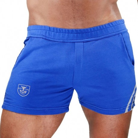 TOF Paris Short Paris Bleu - Gris