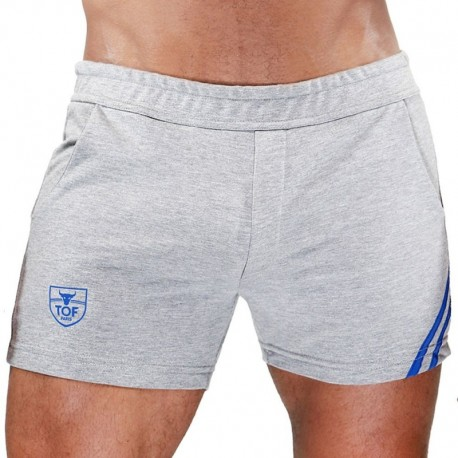 TOF Paris Short Paris Gris - Bleu