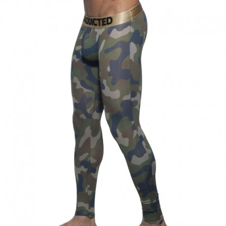 Addicted Camo Long John - Khaki