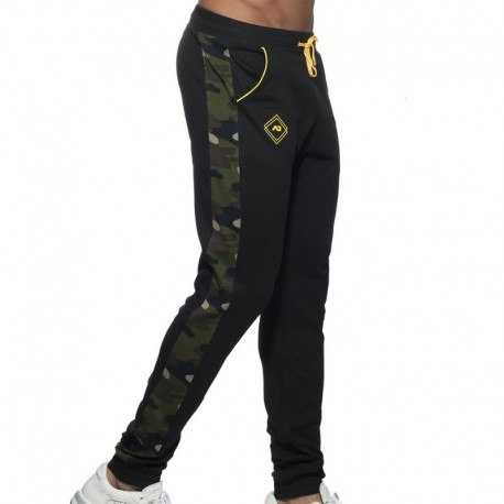 Addicted Pantalon Sport Camo Noir
