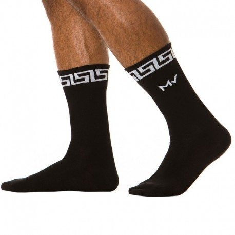 Modus Vivendi Meander Socks - Black