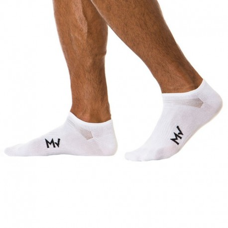 Modus Vivendi Gym Bobby Socks - White