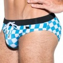 ES Collection Slip de Bain Rally Bleu