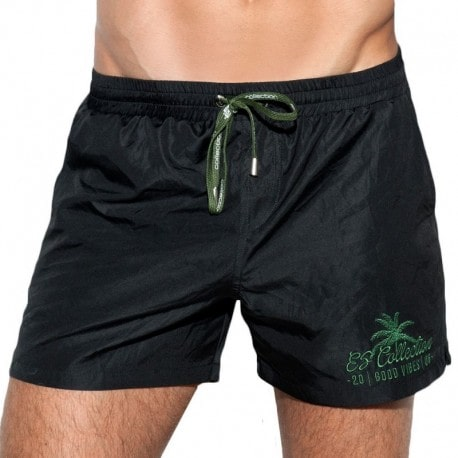 ES Collection Short de Bain Basic Noir