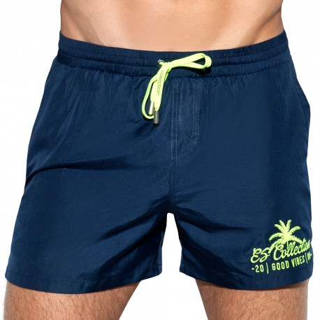 ES Collection Short de Bain Basic Marine