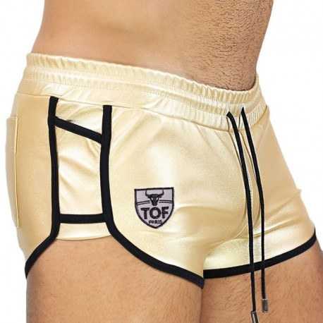 TOF Paris Short Golden Or