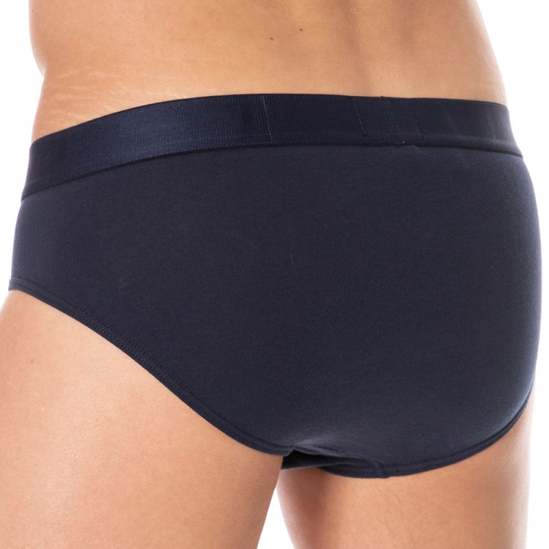 Tommy Hilfiger Flag Core Cotton Brief - Navy