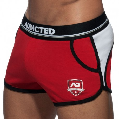 Addicted Rocky Short - Red