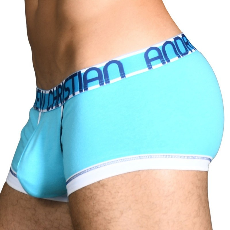 Andrew Christian Boxer CoolFlex Modal Active Show-It Turquoise