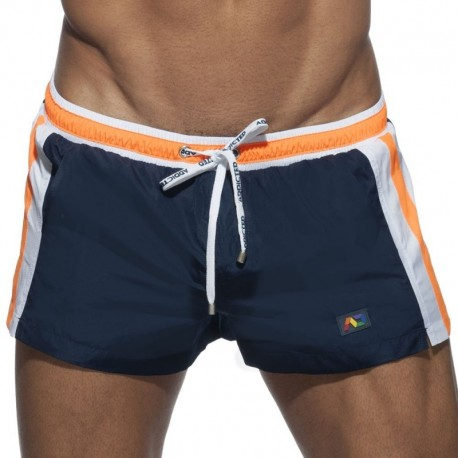 Addicted Short de Bain Basic Stripes Marine