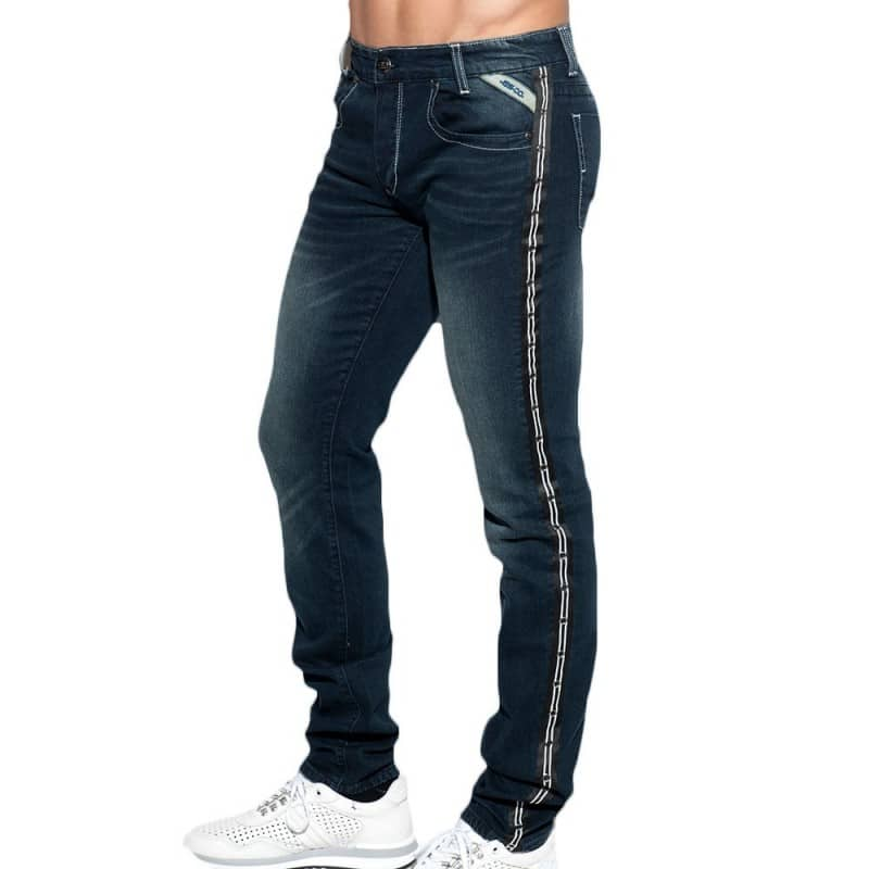 ES Collection Jeans Dystopia Tape Marine