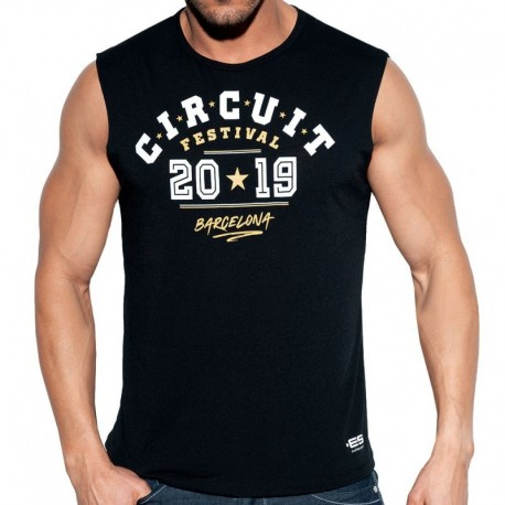 ES Collection Débardeur Circuit Boy 2019 Noir