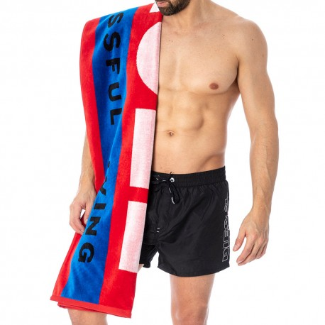 Diesel For Successful Living Beach Towel - Red