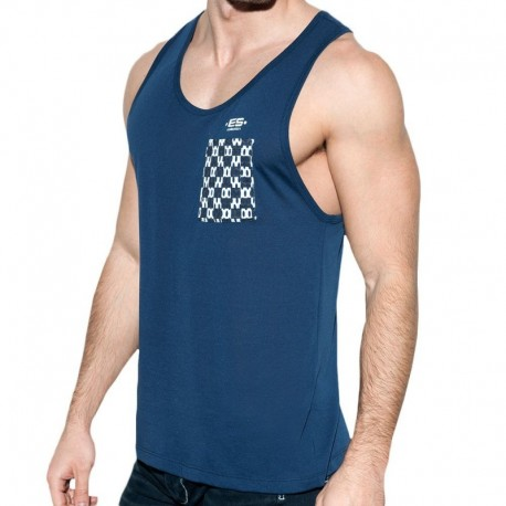 ES Collection Rally Tank Top - Navy