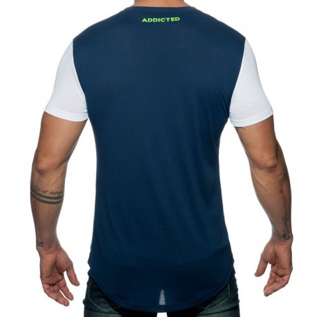 Addicted T-Shirt 69 Marine