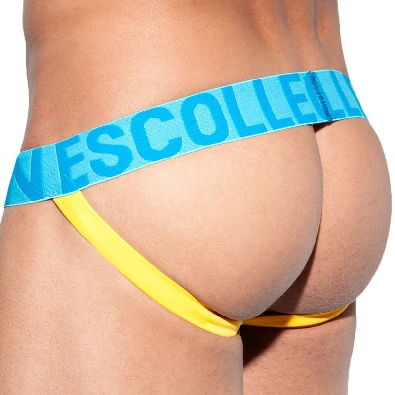 ES Collection Jock Strap Push Up Second Skin Blanc