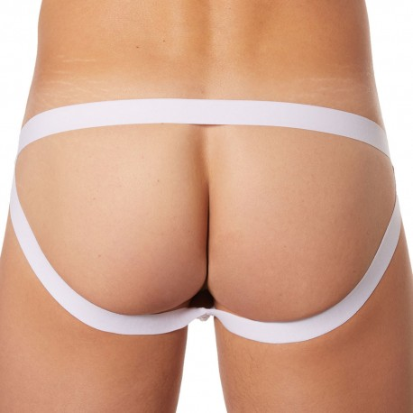 Lookme Jock Strap Diamond Blanc