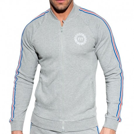 ES Collection FIT Tape Jacket - Grey