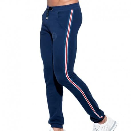 ES Collection Pantalon Sport FIT Tape Marine