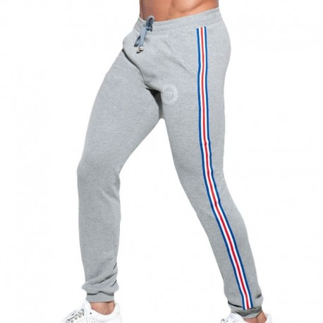 ES Collection Pantalon Sport FIT Tape Gris