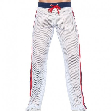 ES Collection Pantalon Open Mesh Blanc