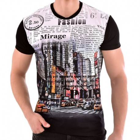 Roberto Lucca T-Shirt Slim Fit NYC