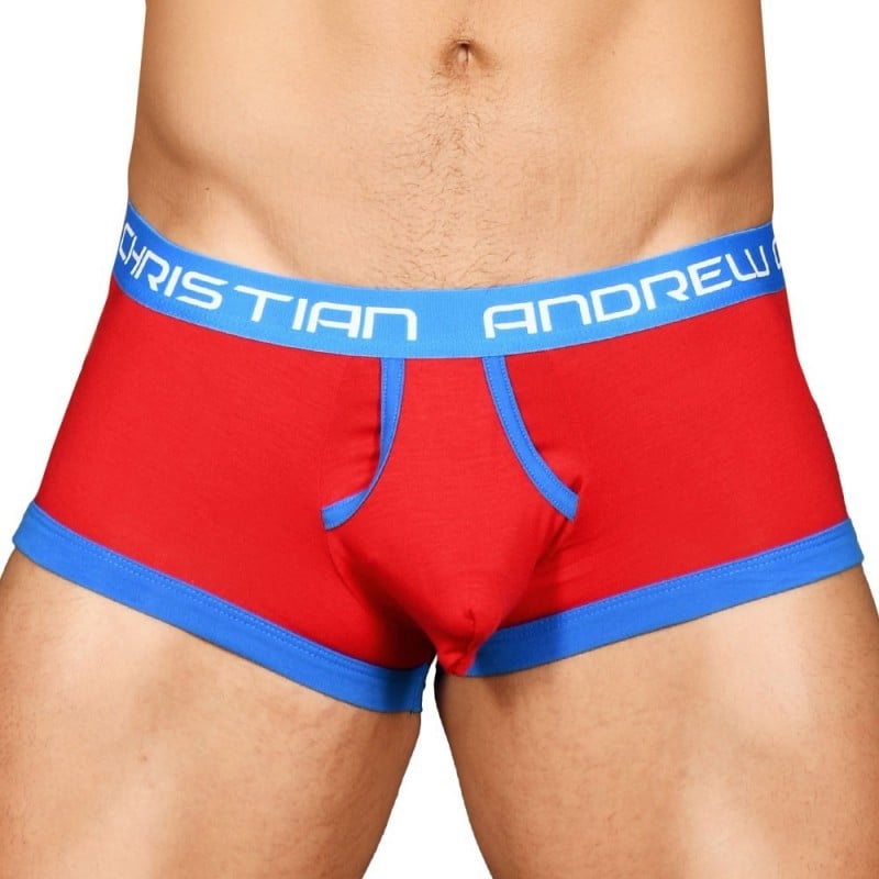 Andrew Christian Boxer Retro Almost Naked Rouge