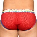 Andrew Christian Pride Mesh Brief - Red