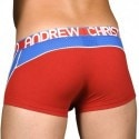 Andrew Christian Boxer Trophy Boy Active Mesh Rouge