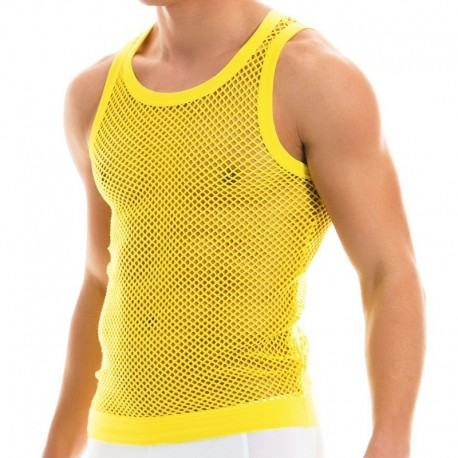 Modus Vivendi Débardeur C-Through Jaune