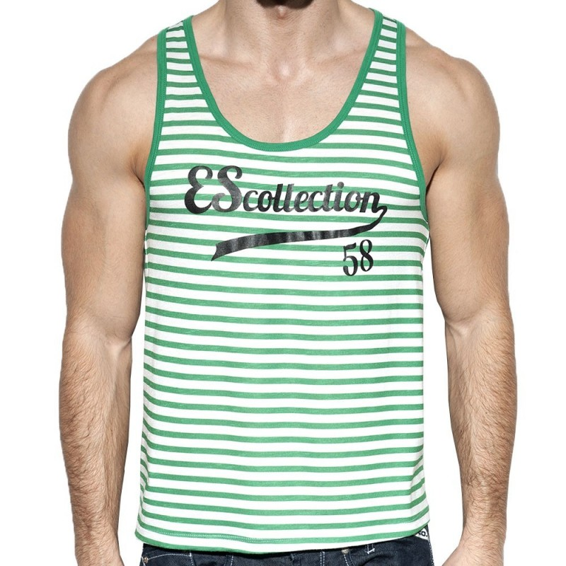 ES Collection Débardeur Retro Sailor Vert