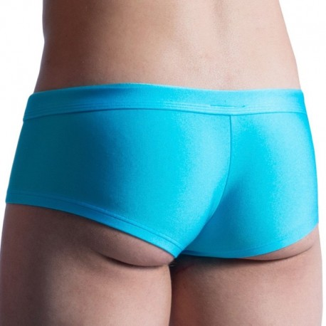 Manstore Shorty de Bain Hot Pants M859 Azur