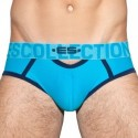 ES Collection Slip Mesh Double Opening Bleu Paon