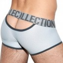 ES Collection Boxer Mesh Double Opening Argent