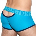ES Collection Boxer Mesh Double Opening Bleu Paon