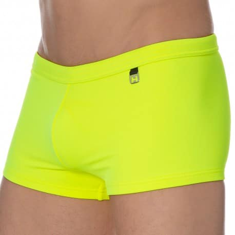 HOM Sunlight Swim Boxer - Yellow