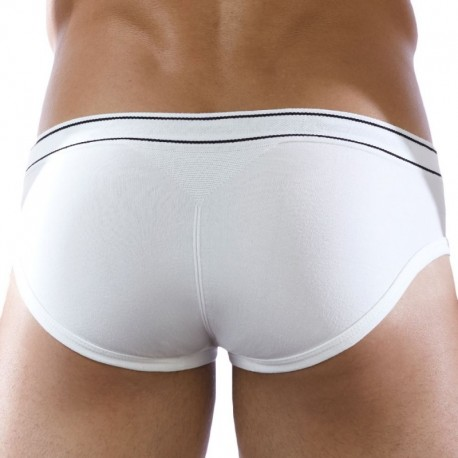 D.Hedral Ace Brief - White
