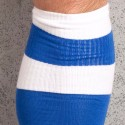 Chaussettes Football Bleues et Blanches