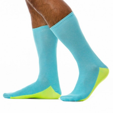 Modus Vivendi Tongue Socks - Aqua