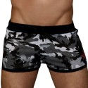 Andrew Christian Short Jogger Sergeant Camouflage Gris