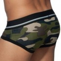 Addicted Basic Colors Cotton Briefs - Khaki Camo