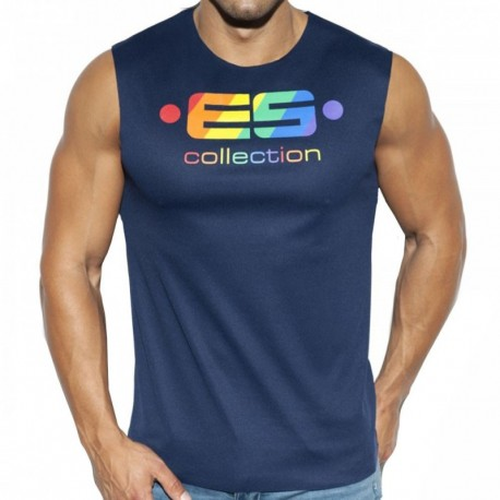 ES Collection ES Pride Tank Top - Navy