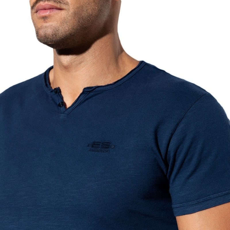 ES Collection Washed T-Shirt - Navy
