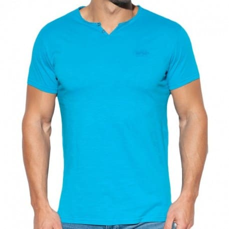 ES Collection T-Shirt Washed Bleu