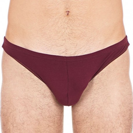 HOM String Smart Cotton Freddy Bordeaux