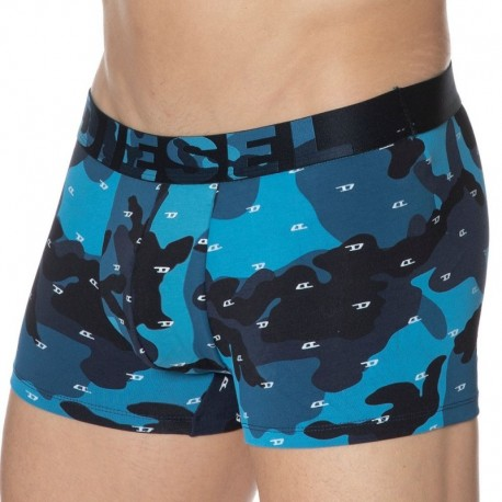 Diesel Boxer Instant Looks Camouflage Bleu