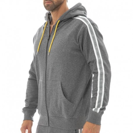 Diesel Sports Hoody - Heather Grey