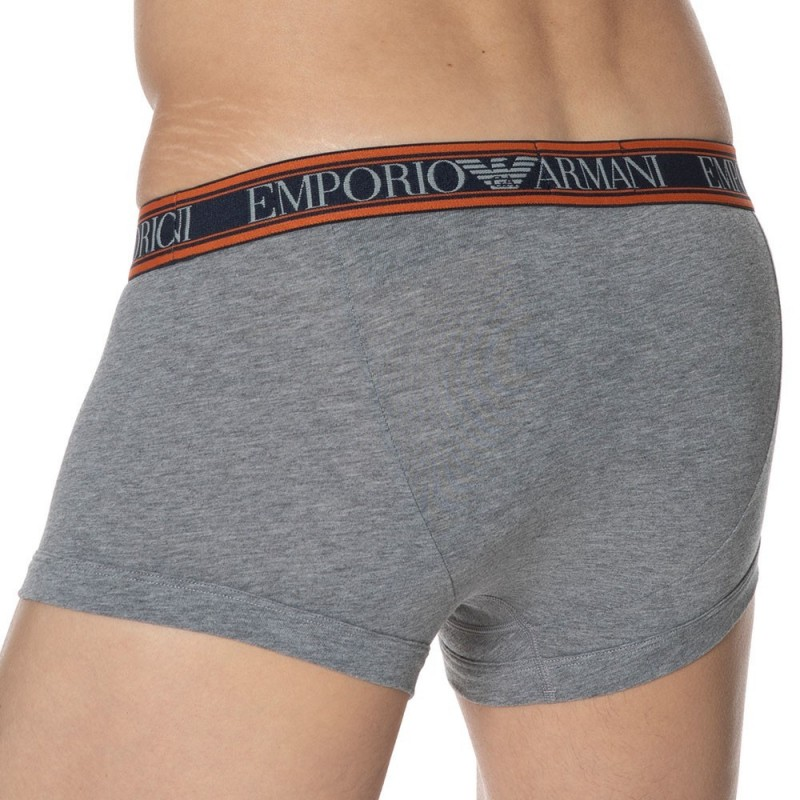 Emporio Armani Boxer Color Play Gris