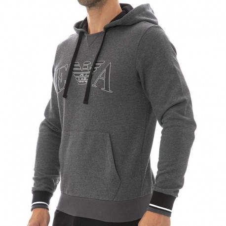 Emporio Armani Iconic Terry Sweat-Shirt - Grey