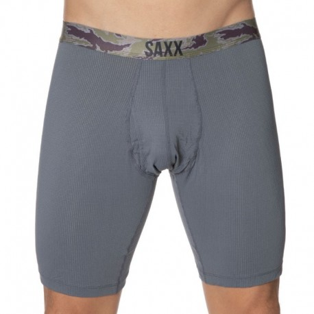 SAXX Quest Long Boxer - Charcoal